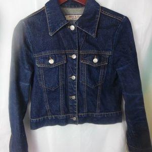 Paris Blues Jean Jacket Sz Small 100% Cotton